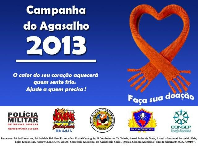 Campanha Agasalho 2013 2