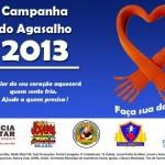 Policia Militar de Fervedouro e JCC na Campanha do Agasalho 2013.