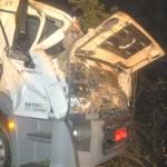 Caminhoneiro de Matipó morre em acidente na MG-108.