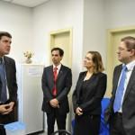 Diretoria da OAB Manhuaçu visita novo juiz Criminal.