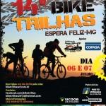 Inscrições do Bike Trilhas estão abertas.