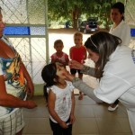 Vacinação contra Paralisia Infantil em Luisburgo