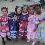 Manhuaçu - Creches Municipais fazem festa junina.