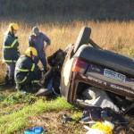 Três pessoas da mesma família morrem em acidente na BR 116.