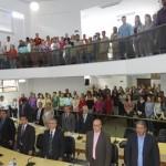 Manhuaçu-Vereadores apoiam servidores da Saúde contra o aumento da jornada de trabalho.