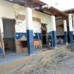 Prefeitura de Manhuaçu inicia reforma em Escola de Palmeiras.
