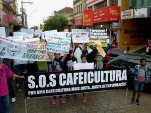Protesto Cafeicultura