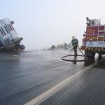 Acidente envolve quatro veículos no km 596 da BR-116.