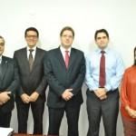 Diretoria da OAB Manhuaçu visita procurador da República.