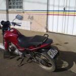 PM Reduto: Durante Operação Blitz, recuperam motocicleta furtada.