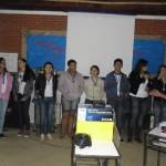 JCC de Fervedouro trabalhou na gincana estudantil e cultural.
