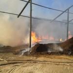 Incêndio atinge serraria em Martins Soares.