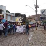 Paróquia de Santa Luzia celebra  mês da Bíblia com caminhada.