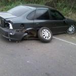 Acidente na estrada Espera Felliz/Carangola.
