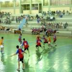 Manhuaçu - Jogos Estudantis movimentam Poliesportivo Osvaldo Sad.