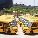 Zona da Mata recebe 59 ônibus escolares.