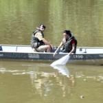 Peixamento no Rio Pomba em Cataguases.