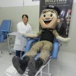 """""""47º BPM promove Campanha Doe Sangue – Resgate uma vida!!!"""