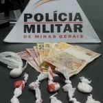 75ª CIA– PM prende autor por tráfico de drogas.