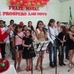 Coral Infantil de Luisburgo se apresenta em Cantata de Natal.