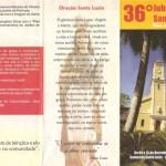 36º Jubileu de Santa Luzia.