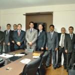 Diretoria da OAB Manhuaçu visita Câmara Municipal.