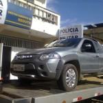 PM de Reduto apreende veículo clonado.