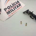 Arma de Fogo apreendida em Reduto.
