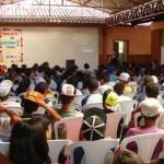 Polícia Militar de Reduto realiza palestra a alunos.