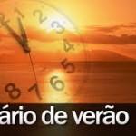 Horário de verão termina no dia 16 de fevereiro.