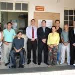 OAB Manhuaçu entrega kits escolares para crianças da DAREI.