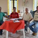 Reunião analisa melhorias para feira livre de Manhuaçu.