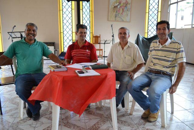 Representantes das secretarias municipais e vereadores