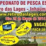 2º Campeonato de Pesca Esportiva Retiro das Lages – Inhaúma.