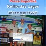 Classificação Final-2º Campeonato de Pesca Esportiva.
