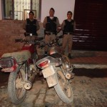 Policia Militar localiza moto clonada.