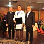 """""""Comandante do 47º BPM é homengeado em solenidade da Prefeitura de Muriaé"""""""
