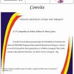 Formatura do PROERD (Programa Educacional de Resistência às Drogas) da Polícia Militar de Minas Gerais