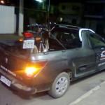 PM de Reduto recupera motocicleta furtada em pátio.