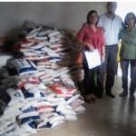 SENAC e Secretaria Municipal de Trabalho e Desenvolvimento Social realizam mais uma entrega de alimentos.