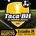 Definida chave de Manhuaçu na taça BH de Futebol Junior 2014.