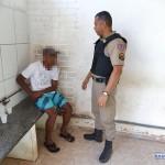 Homem é preso em Carangola após furtar TV em prefeitura de Faria Lemos.
