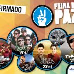 Confirmadas atrações musicais da Feira da Paz 2014.