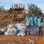 Vigilância Sanitária detona mercadorias apreendidas no comércio de Manhuaçu