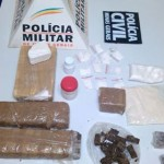 Polícia estoura boca de fumo em Orizânia