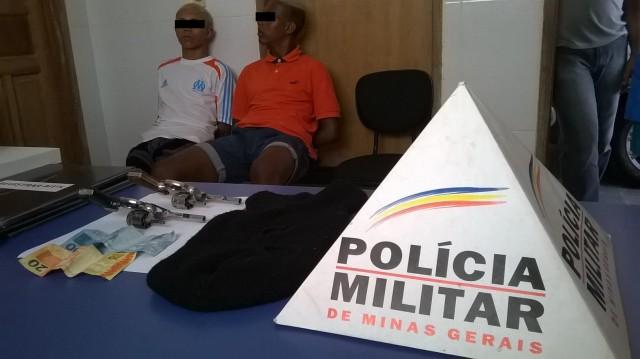 PM em Reduto prende assaltantes de Lotérica.
