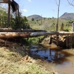 Mais uma ponte reformada na Comunidade da Galdina.