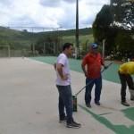 Complexos esportivos de Realeza recebem melhorias.