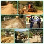 Iniciada a pavimentação de todas as ruas do Distrito de São Manoel do Boi.