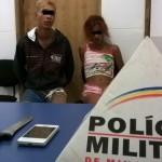 Reduto-Casal furta celular e acaba preso.